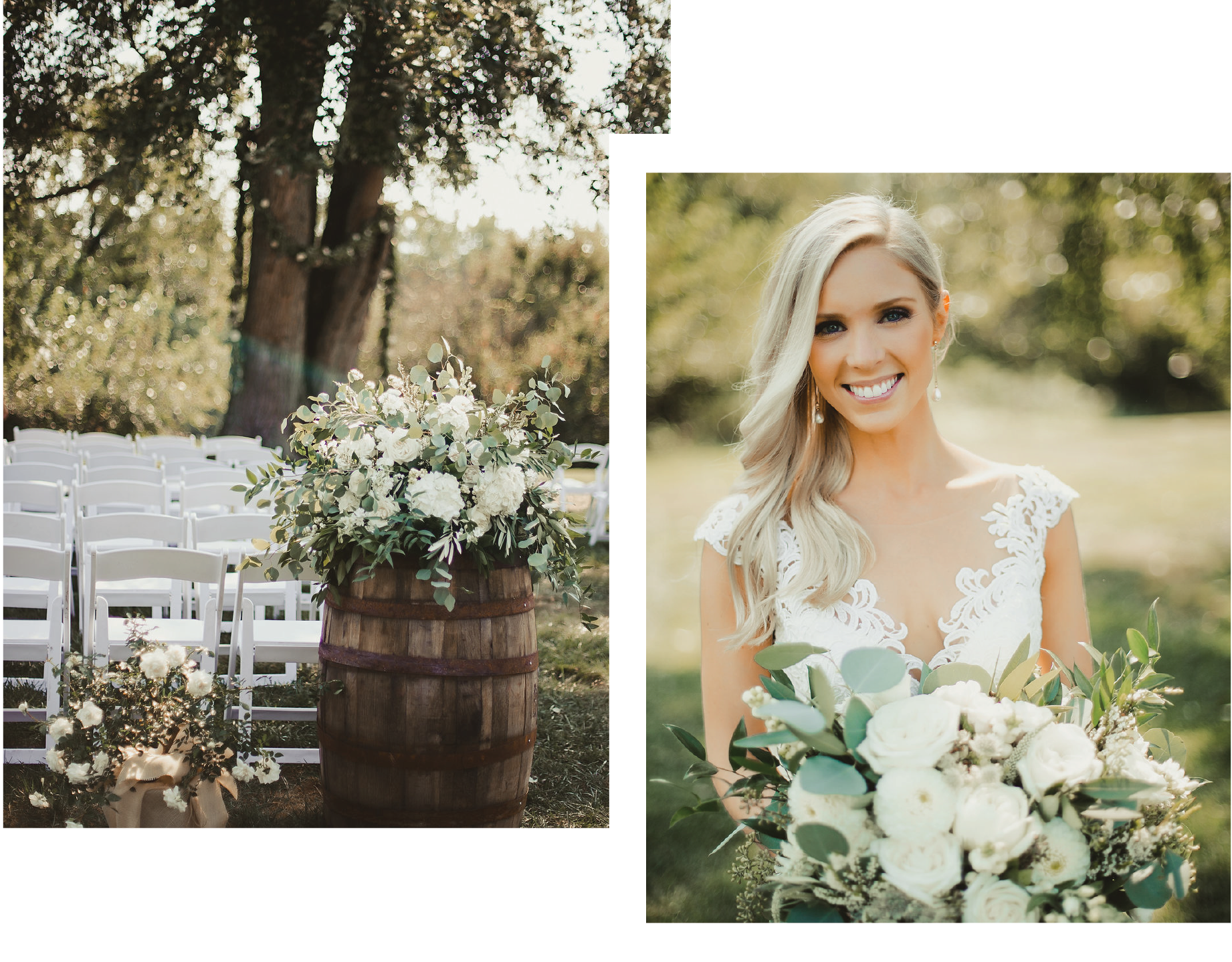 """Andrea with Bella Sorella was truly incredible. - She knocked my wedding out of the park! I live in San Francisco and got married in Noblesville, IN so I was really nervous about being able to meet vendors for our big day. Andrea put me at ease right away and FaceTimed me so I could meet her"
