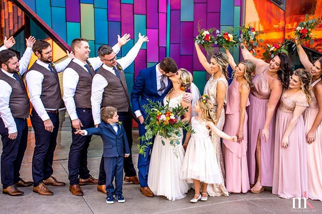 Introducing Dr. & Mrs. Dan and Bailey Casey💗  March 16th, 2019  Photographers: Katie, Molly Venue: Noah's Event Venue Wedding Planner: Along Came Abby Videographer: Eddie Gilmer Hair: Keri Truscello, Salon Pearl; Geena Mericle, Ladybird Styling Makeup: Logaina Beauty; Shannon Nemec Makeup