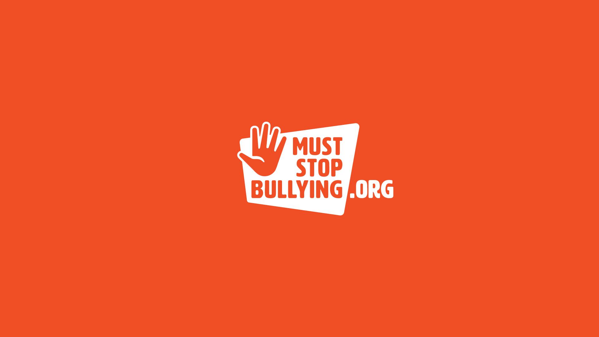 Logo design for muststopbullying.org