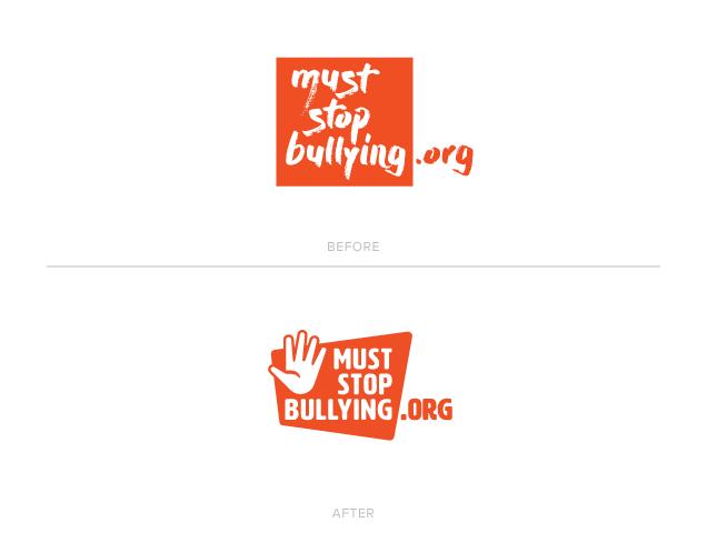 2018 MustStopBullying.org Logo Redesign