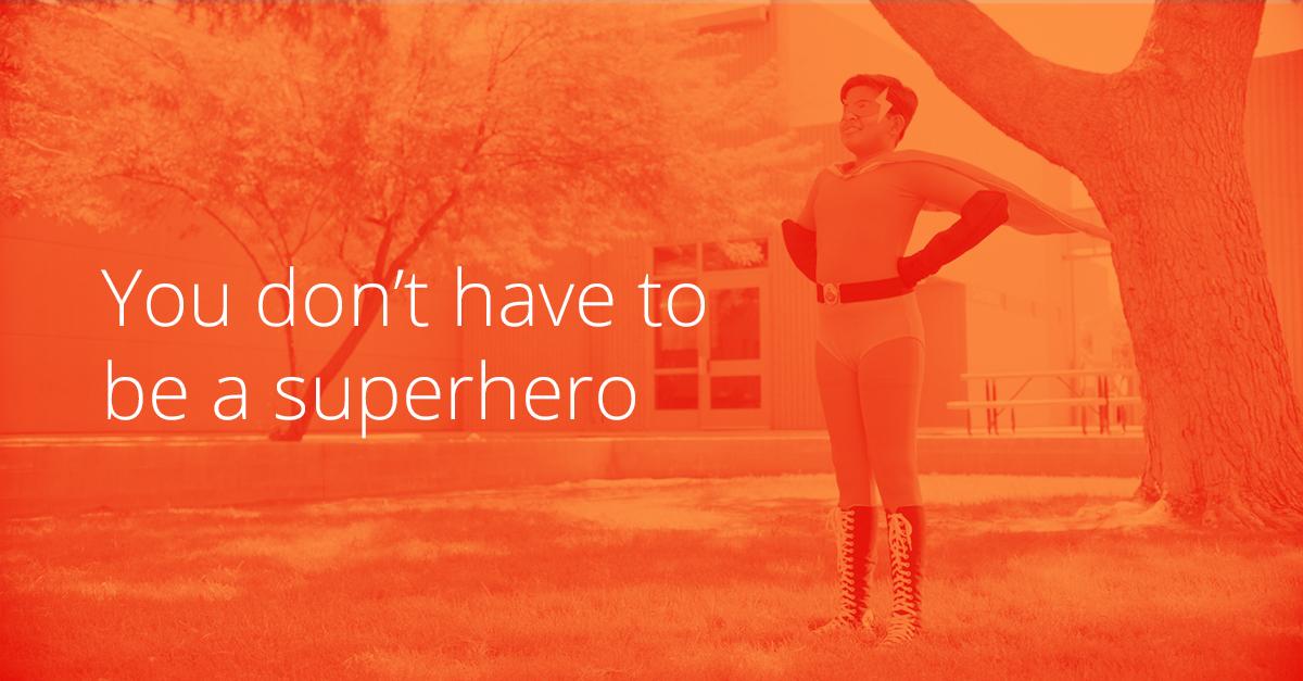 Facebook Creative  | Superhero