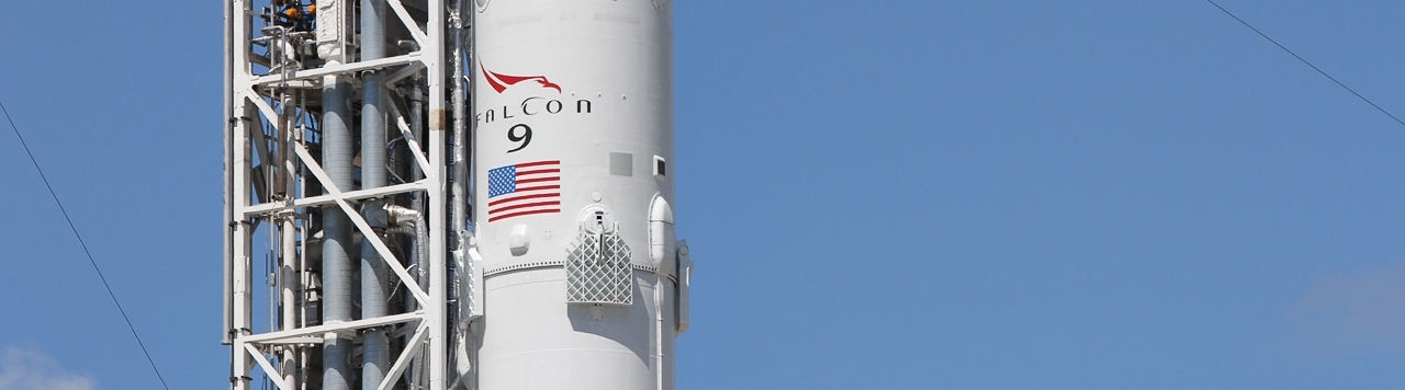 File photo of a Falcon 9 rocket. Photo Credit: Derek Richardson / Orbital Velocity
