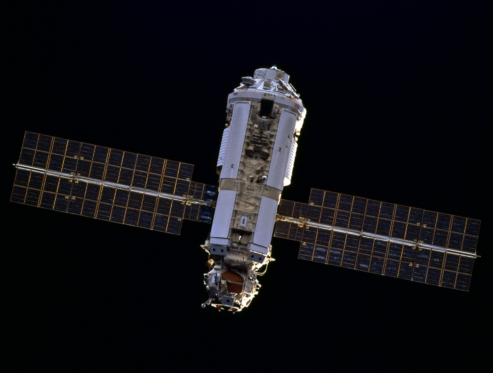 The Docking of Soyuz MS-03 occurred 18 years to the day after the launch of  Zarya , the first component of the football field-sized orbital complex. Photo Credit: NASA