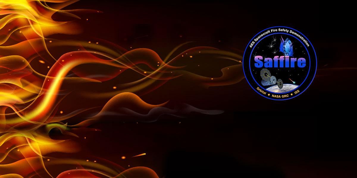 The Saffire/Cygnus emblem. Image Credit: NASA
