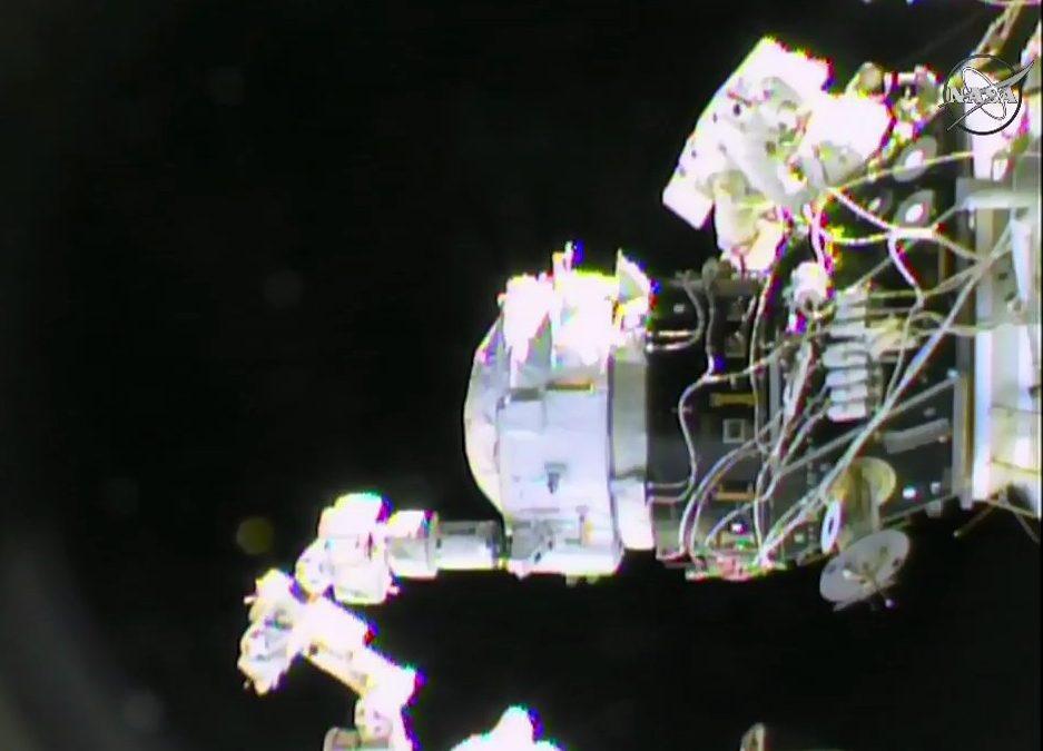 Installation of IDA-2. Photo Credit: NASA