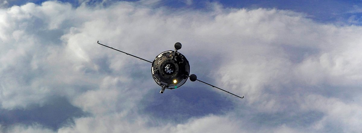 Progress MS-03 undocked from the International Space Station Jan. 31, 2017, after spending six months at the outpost. Photo Credit: Roscosmos