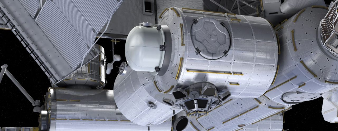 Houston-based NanoRacks will add a commercial airlock to the International Space Station as early as 2019 in order to meet the increasing demand for CubeSat deployment via the outpost. Image Credit: NanoRacks