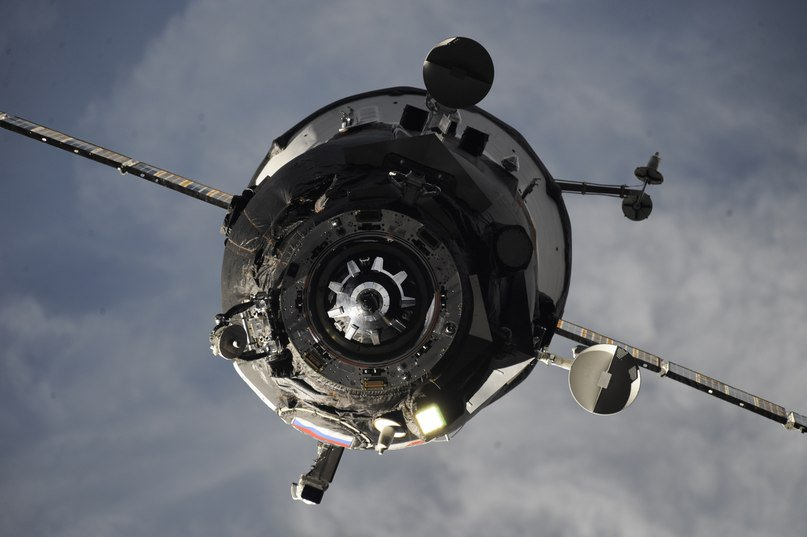 The undocked Progress MS-06 spacecraft. Credit: Roscosmos
