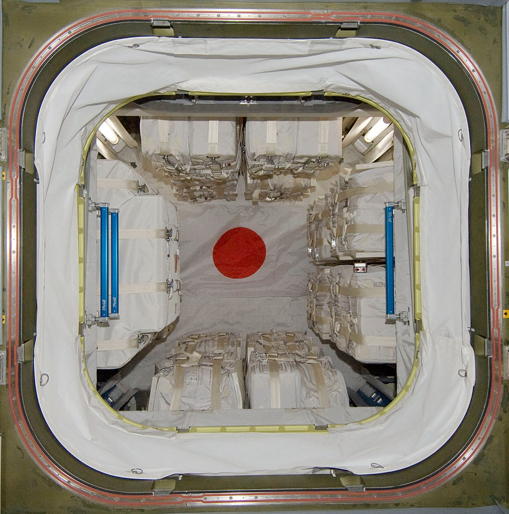 An inside view of the Pressurized Logistics Module. Credit: NASA