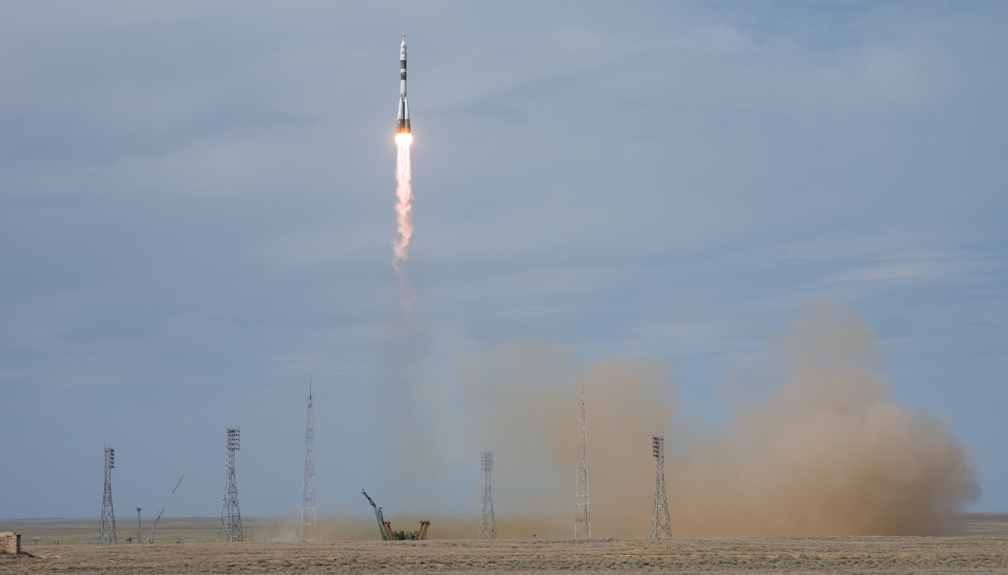File photo of a previous Soyuz launch. Soyuz MS-10 launched Oct. 11, 2018, and failed to reach orbit. Credit: NASA