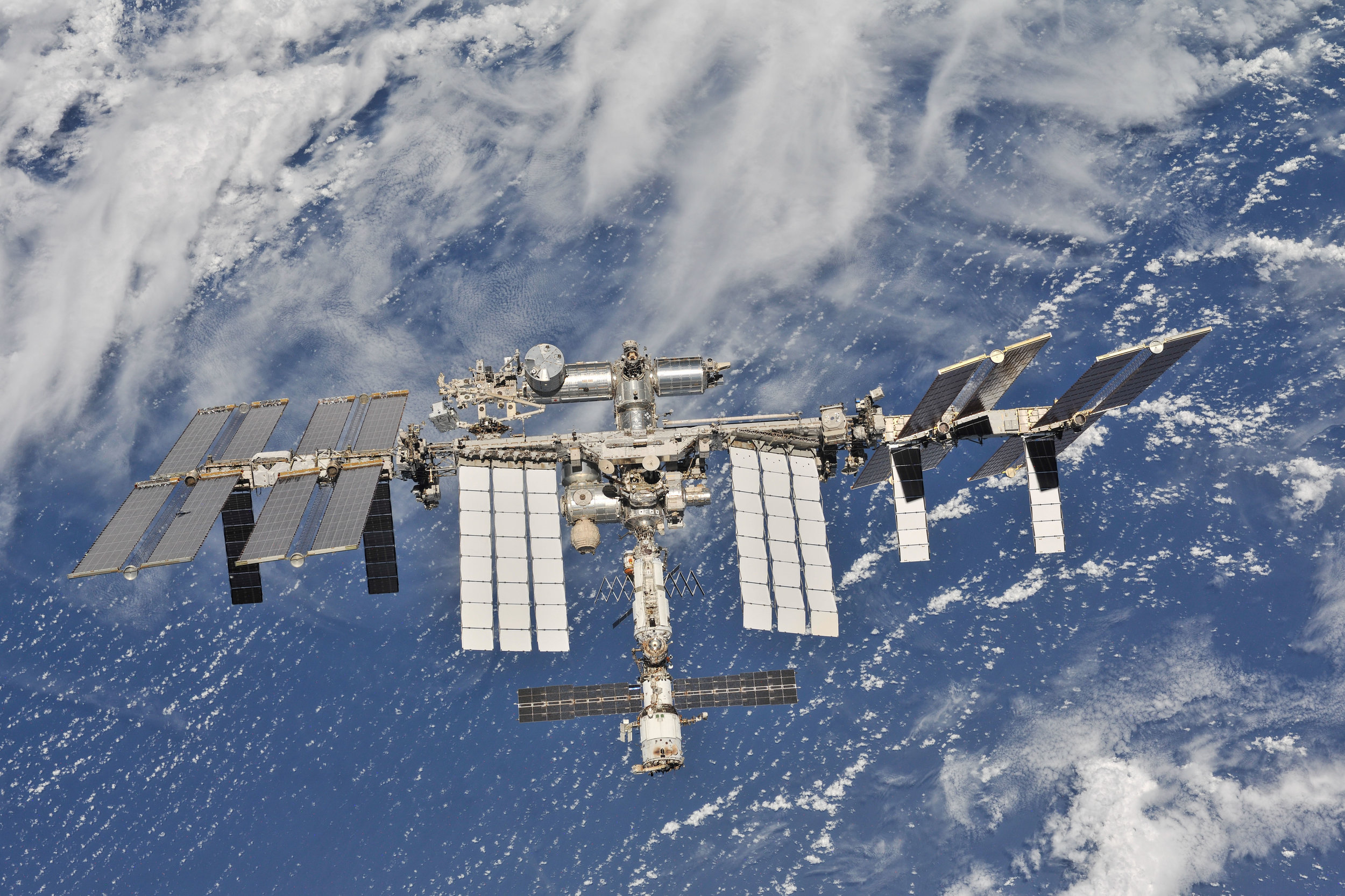 The International Space Station in 2018. Credit: NASA