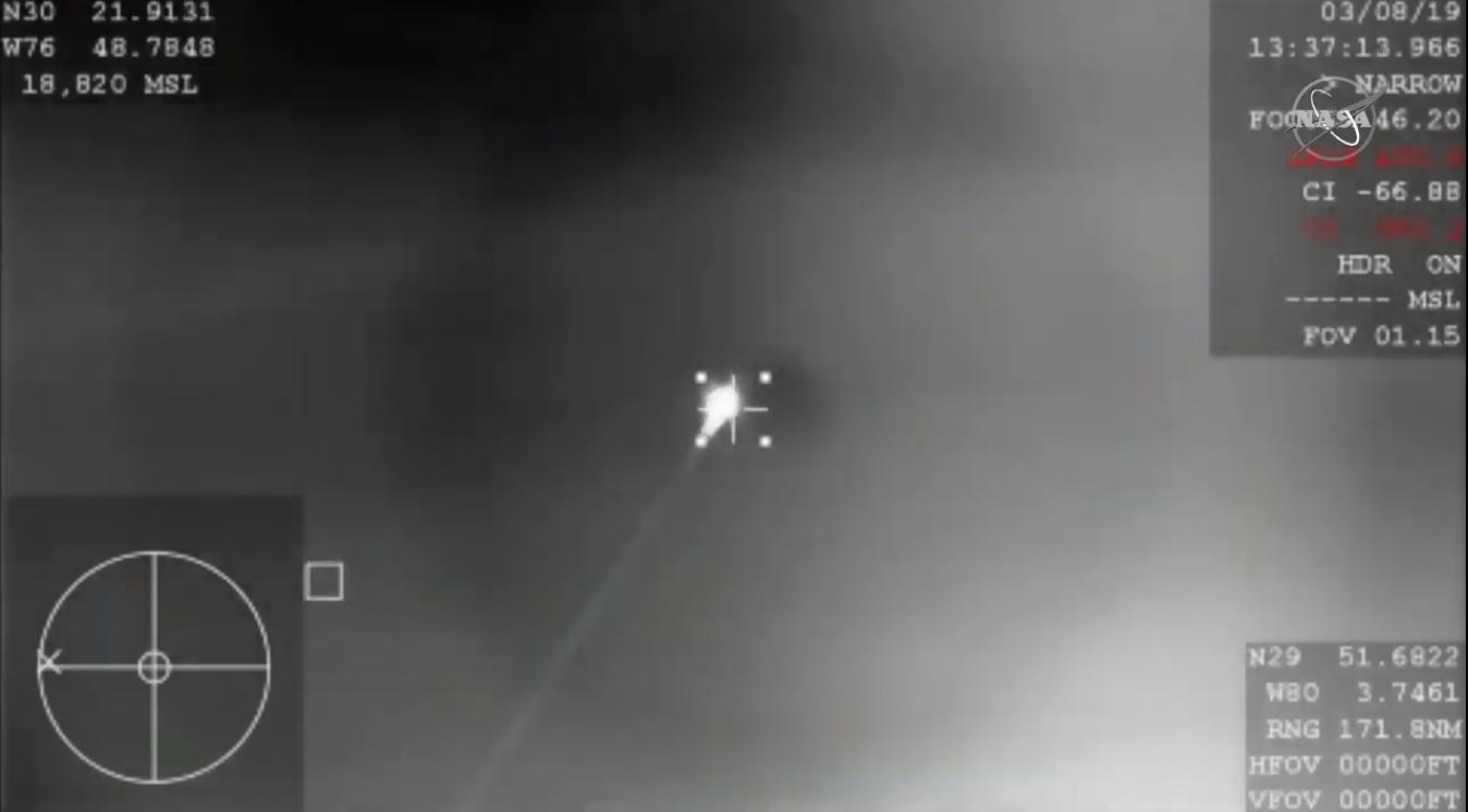 Crew Dragon during atmospheric re-entry. Credit: NASA
