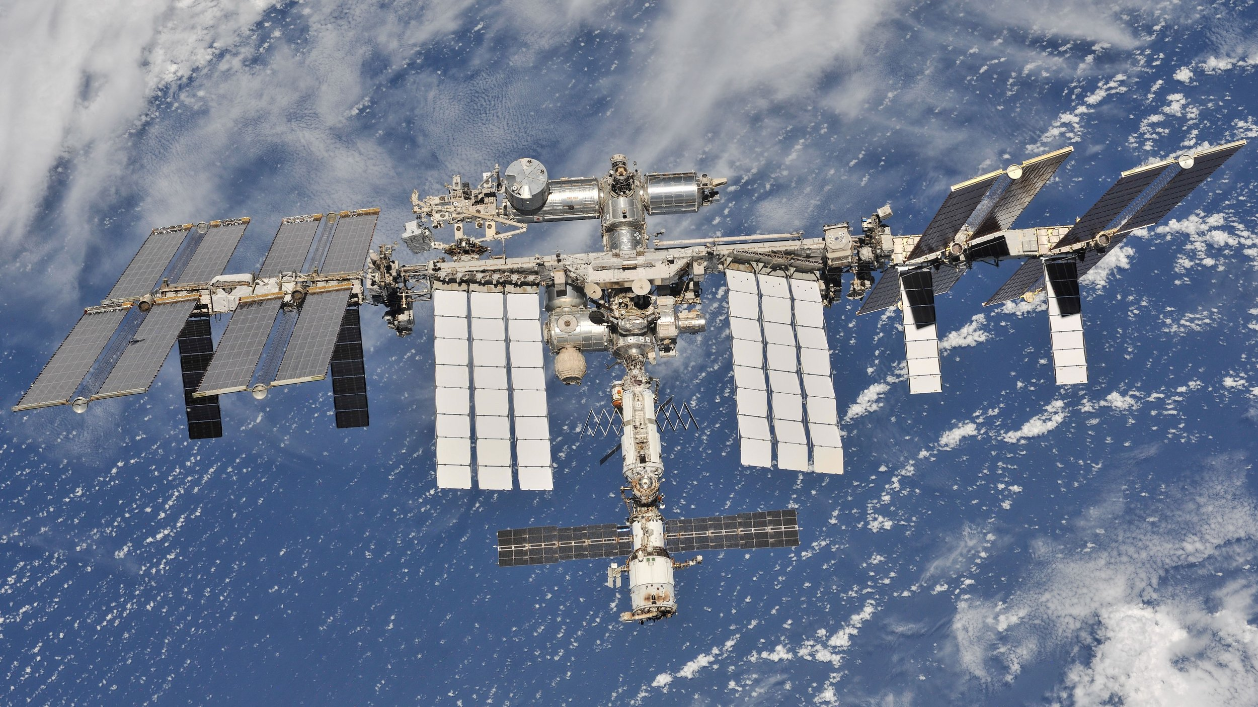 The International Space Station in October 2018. Credit: NASA