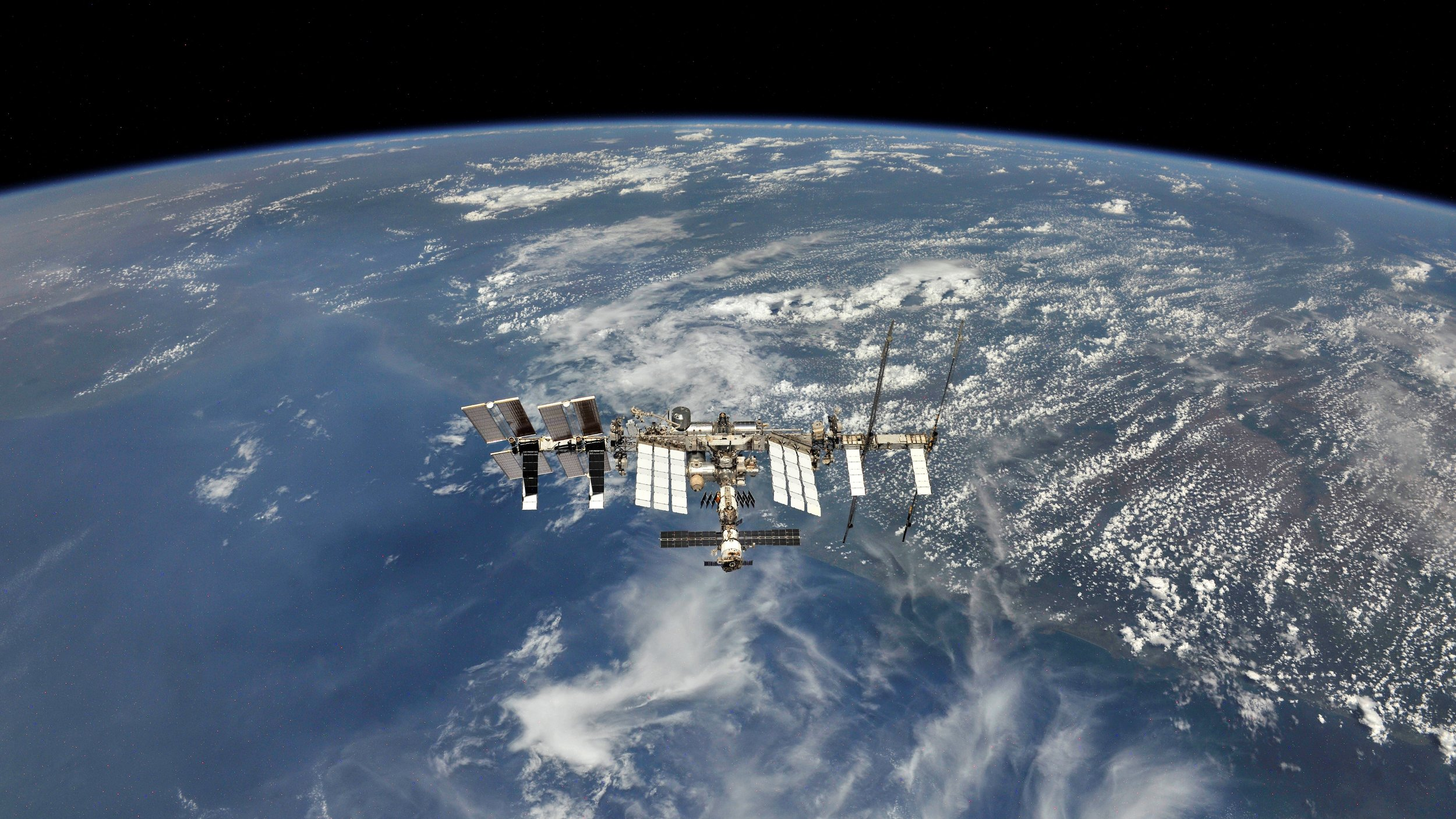 The International Space Station as seen in October 2018. Credit: NASA