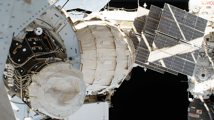The Bigelow Expandable Activity Module was added to the ISS in spring 2016. Credit: NASA