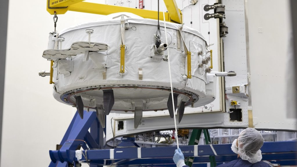 IDA-3 being prepared for launch. Credit: NASA