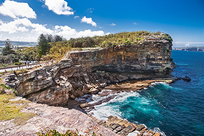 Enjoy a coastal walk at Watsons Bay and The Gap -