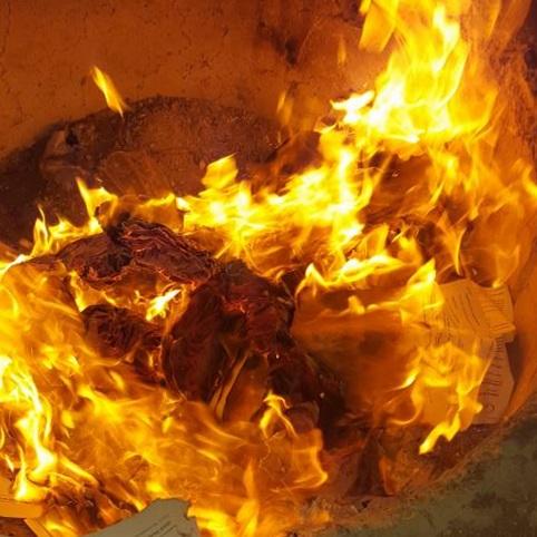 Up in Smoke: Releasing Shame - Burn Baby Burn!