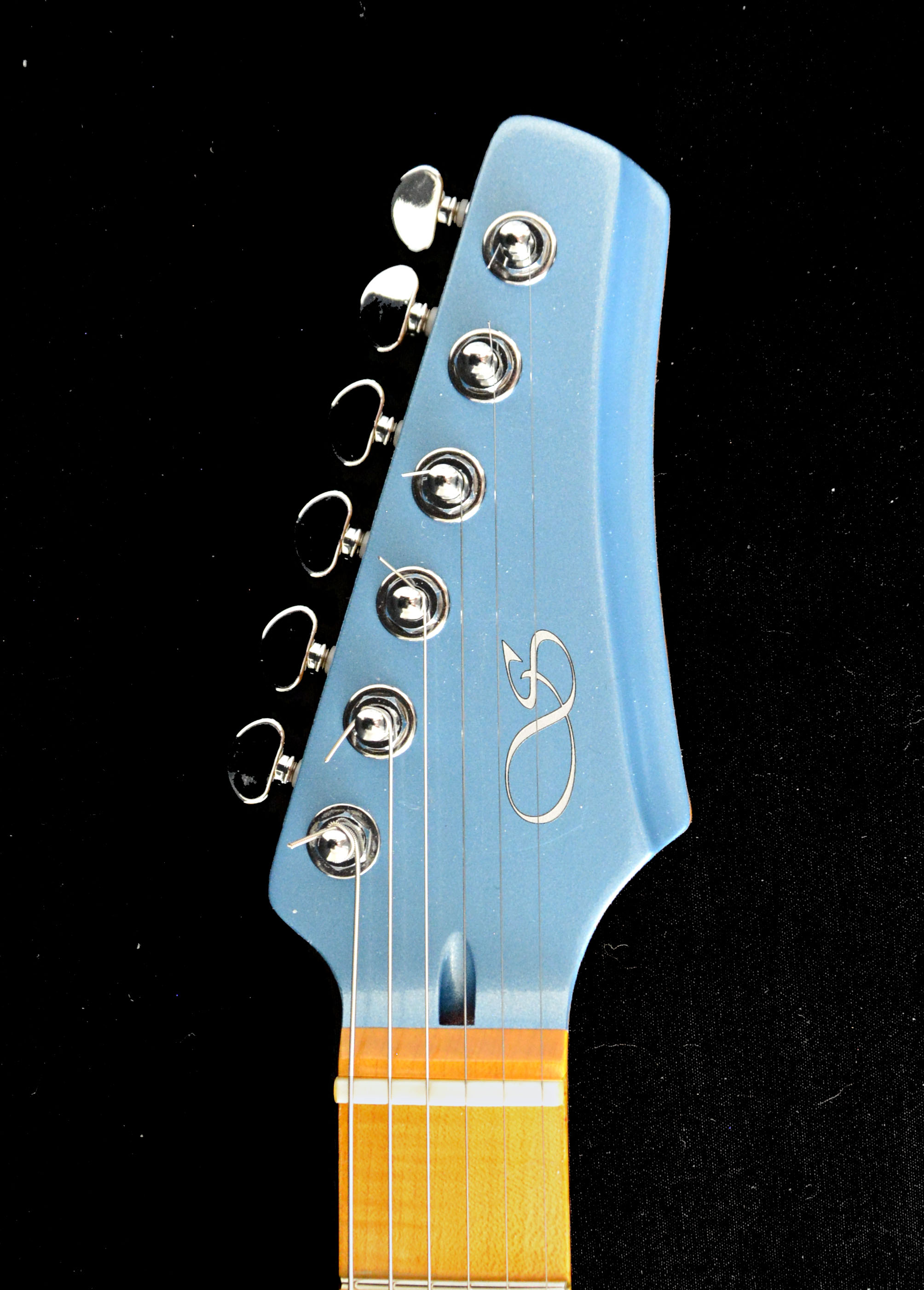Blue Chrome headstock.jpg