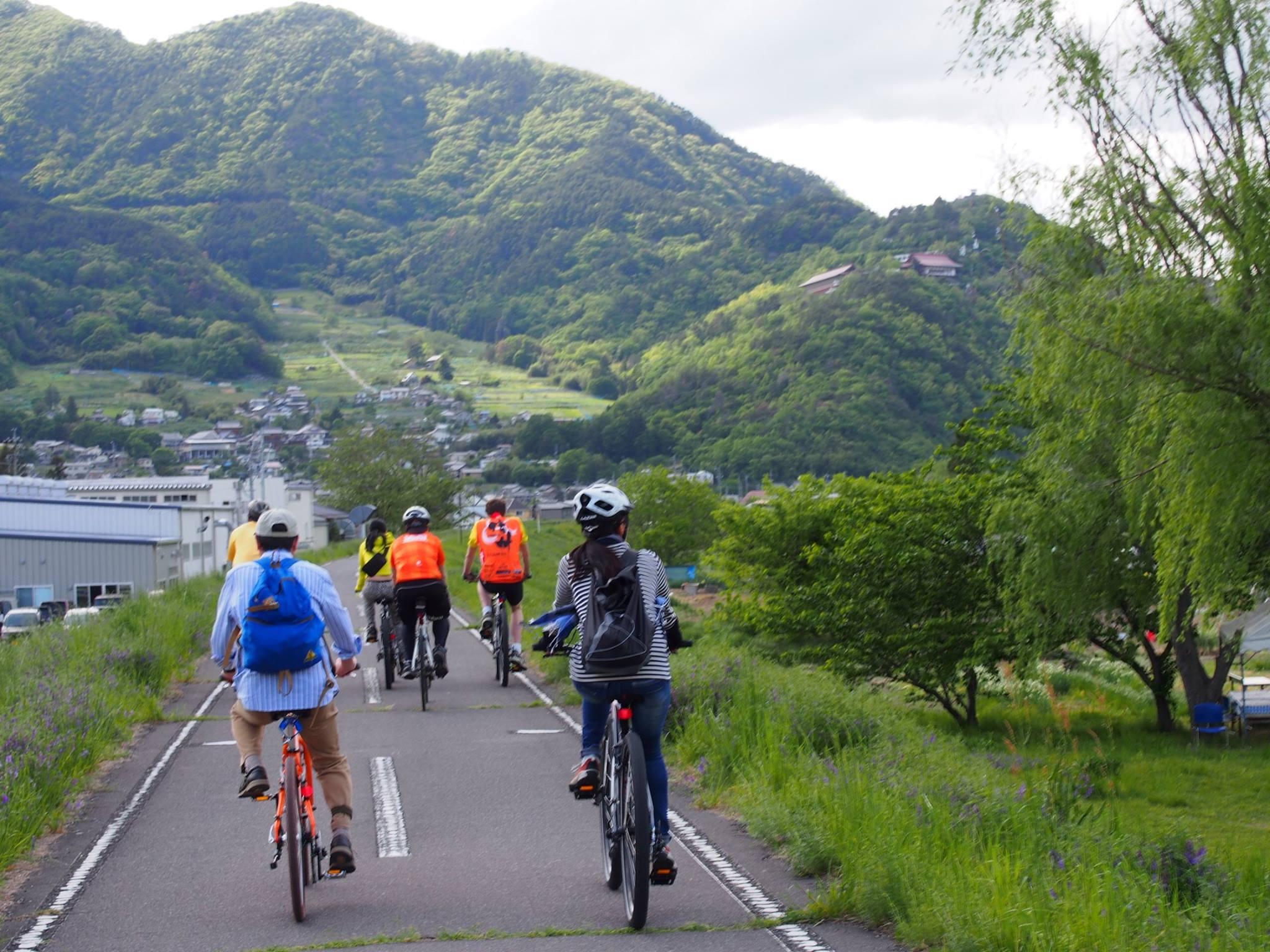 千曲川サイクリング道路 Chikuma River Cycling Path