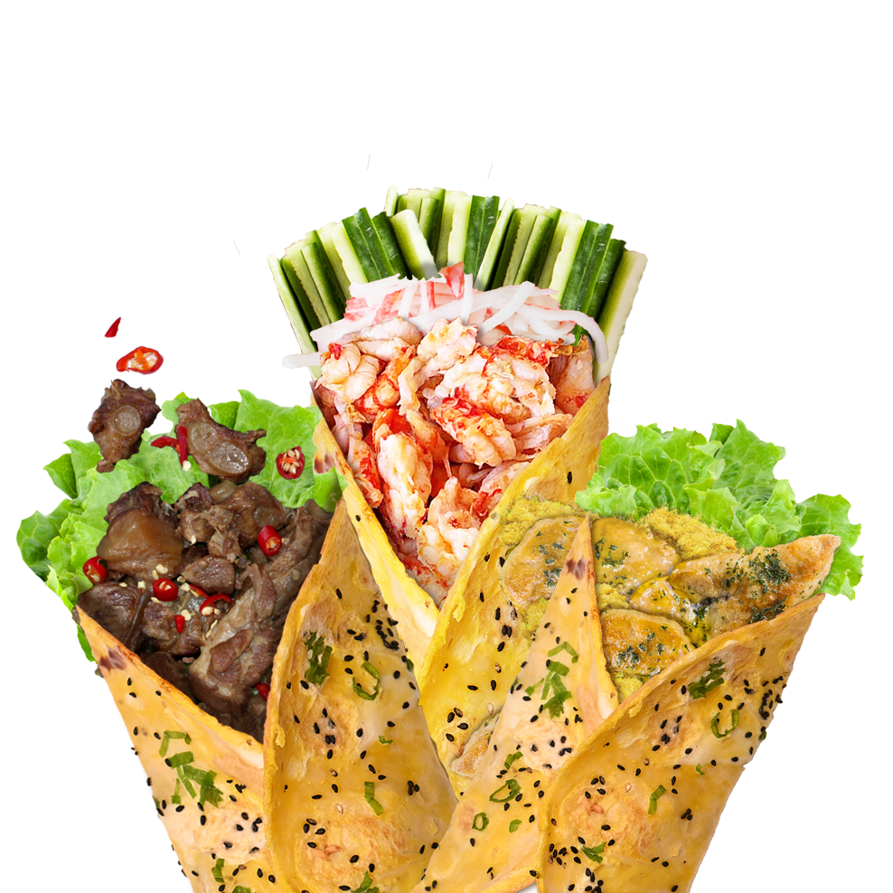 Make Your Crepe - Me + Crepe now creates 13 flavours of crepes for customers to choose, while customers also can create their own crepes according to their preferences.