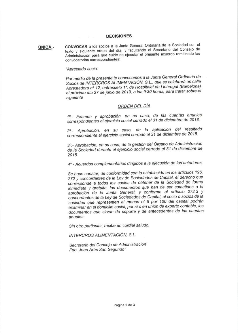 Convocatoria Junta General Pag2