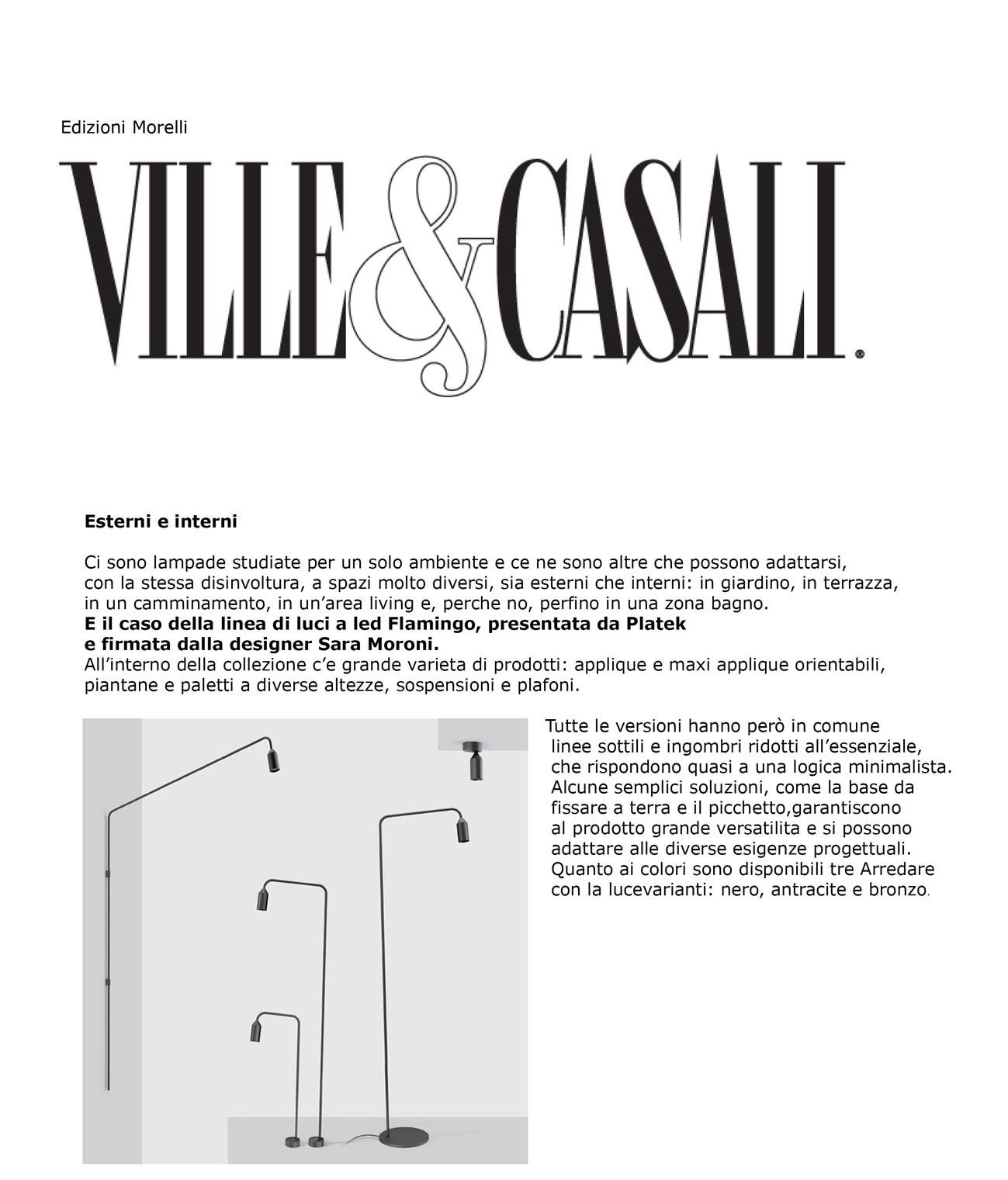 """Ville & Casali_""""Esterni e interni"""""""