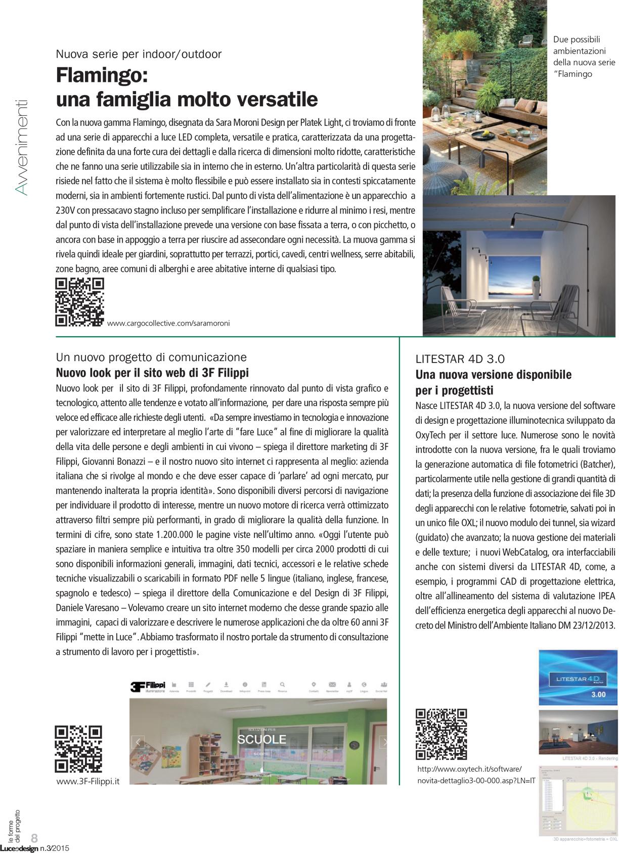 Luce & Design n.3 2015 _ pag. 8