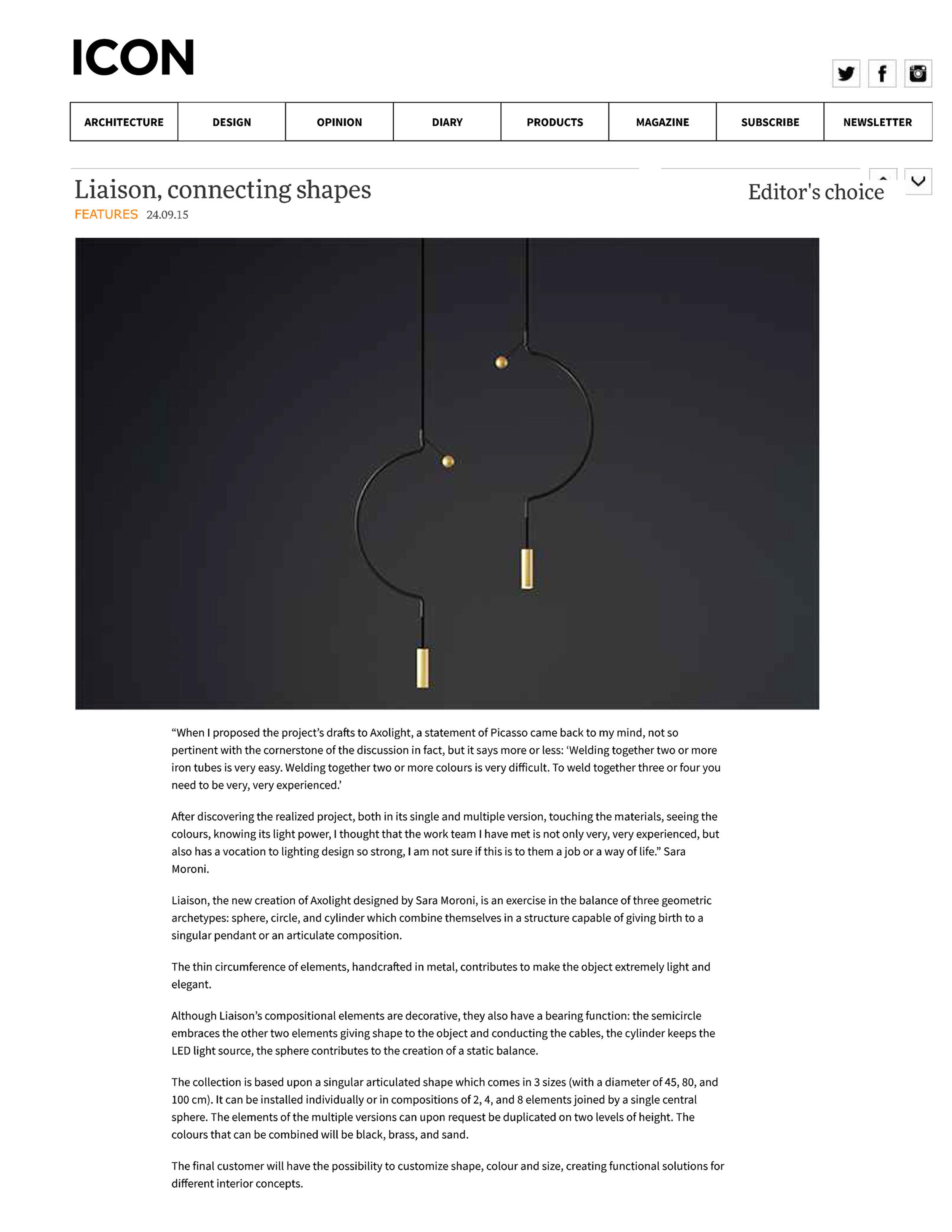 Iconeye   Liaison, connecting shapes