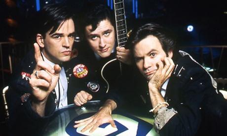 On the set of  Viva Cabaret , 1993.
