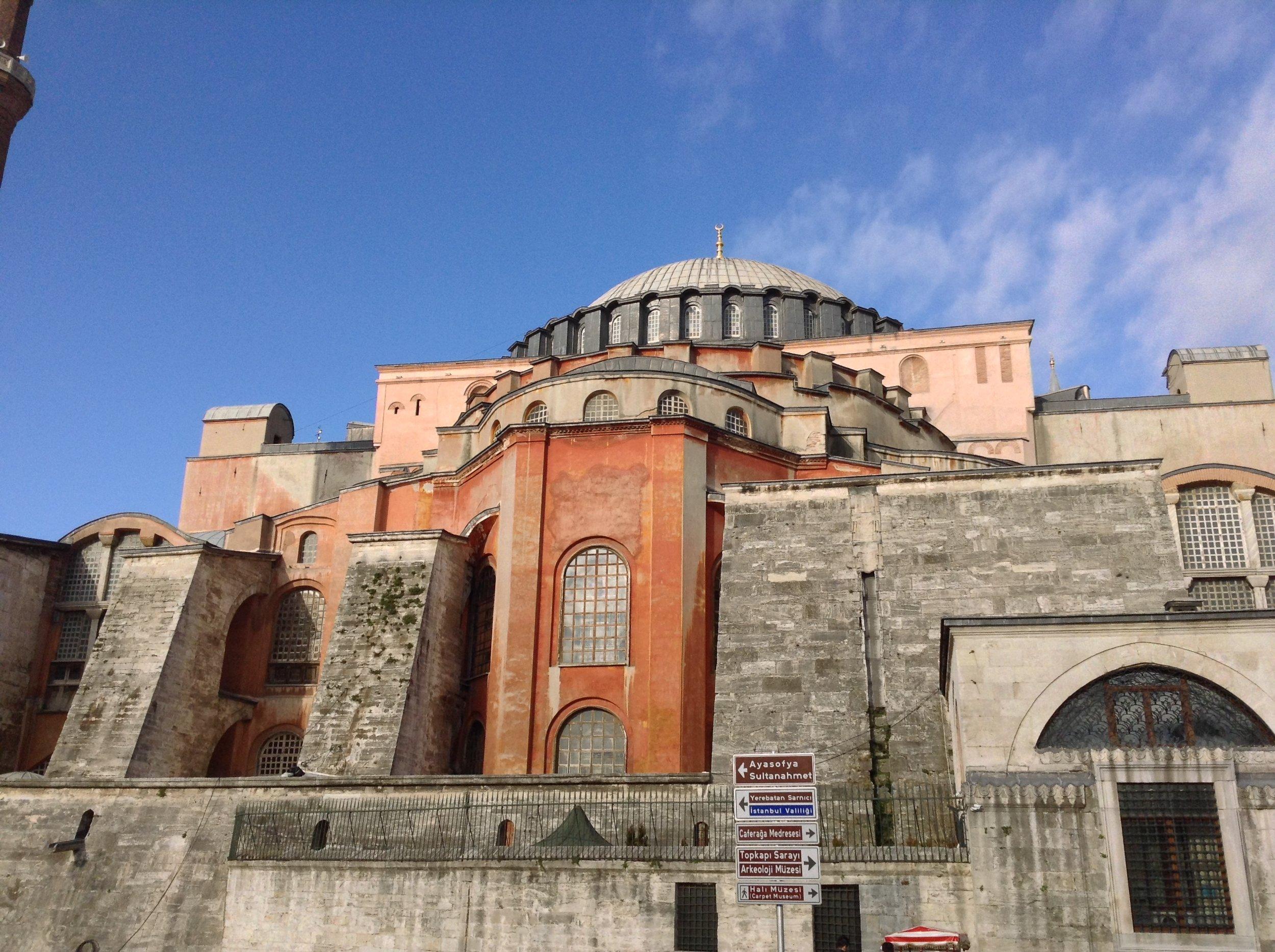 The Hagia Sophia (photo by the author).