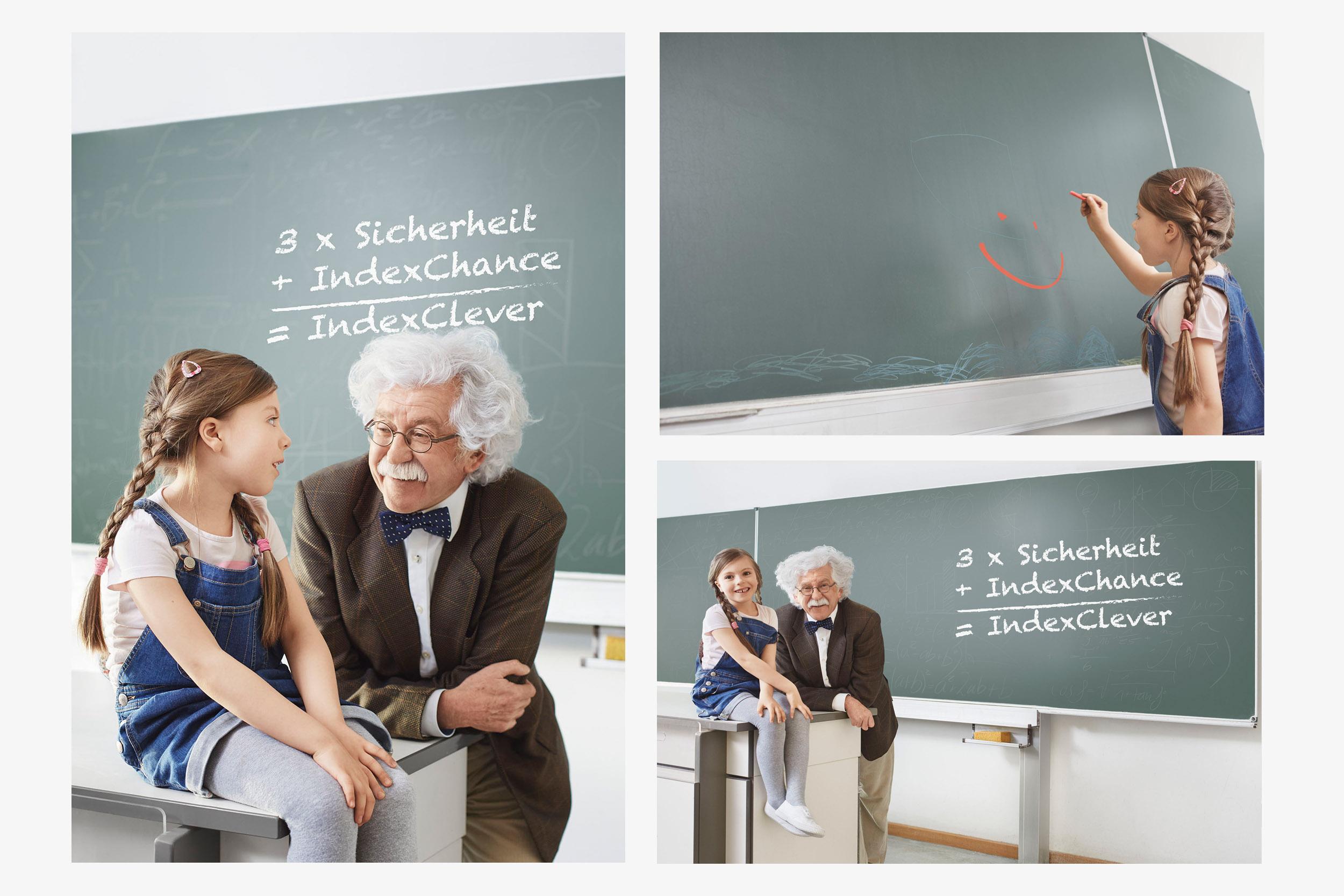Advertising Campaign for print and digital media Client: Wuertembergische Versicherung