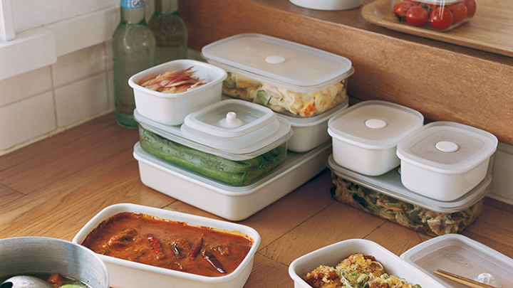 The Kitchen containers will even make that 3 day old pizza look appealing.