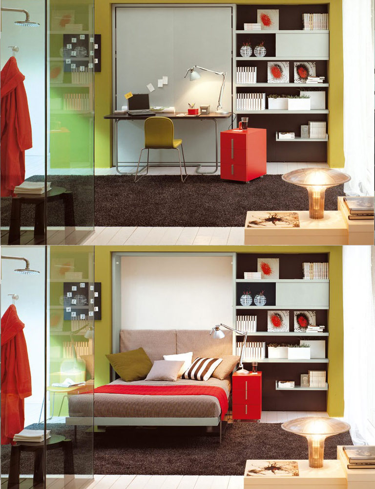 TIP: Use multipurpose furniture to make the most of your space and make it as functional as possible. (Photo: Resource Furniture)