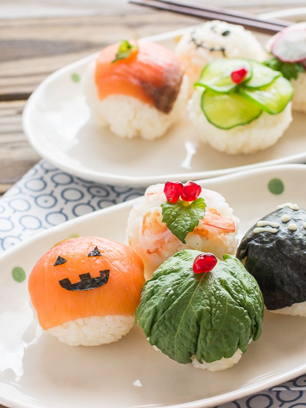Sushi Rice Bites from Chopstick Chronicles