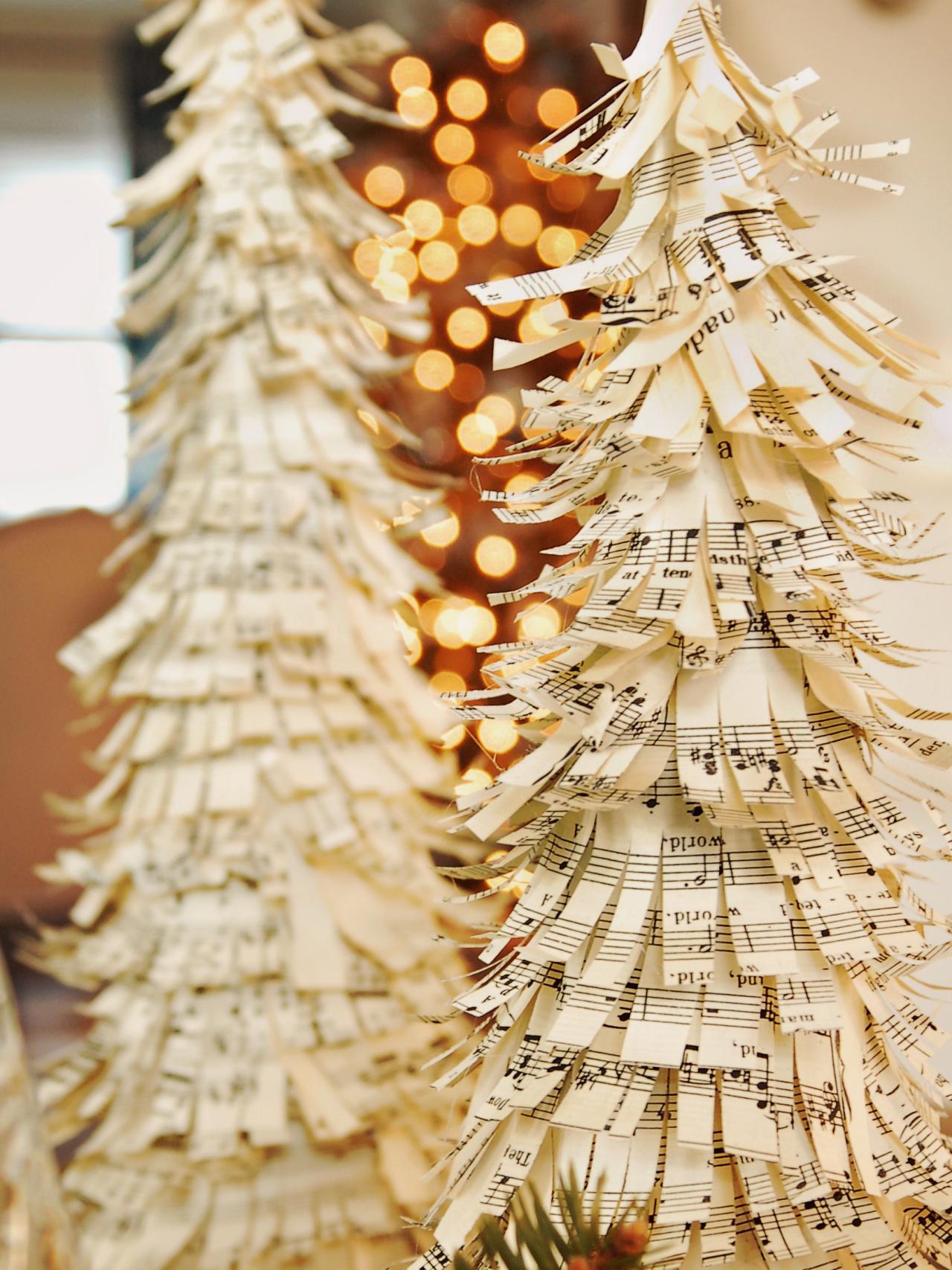 Sheet Music Tree by Marian Parsons. (Photo: HGTV)