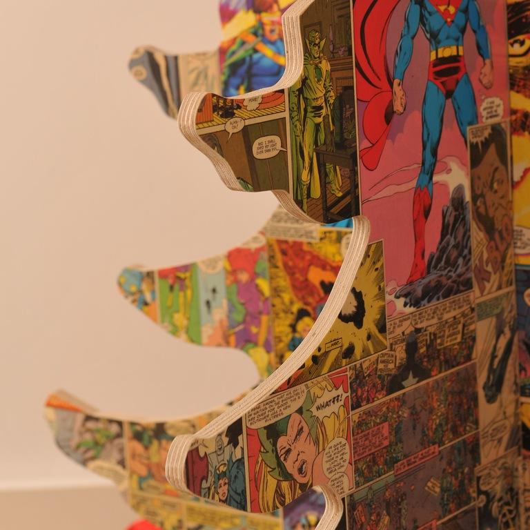Alternative Vintage Comic Tree (Photo: Bombus)
