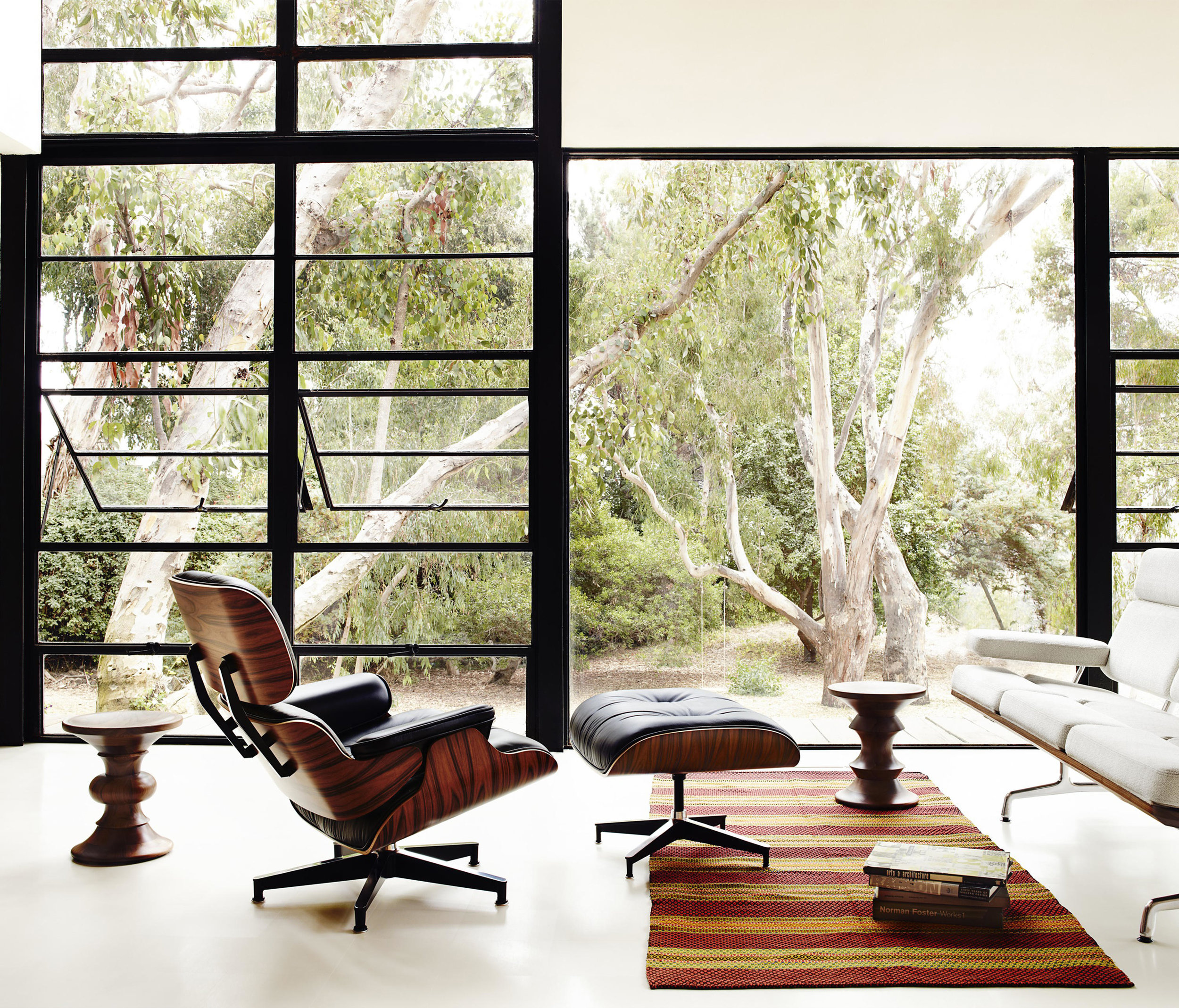 The Classic Lounge Chair by Charles Eames. Image:  Architonic.com