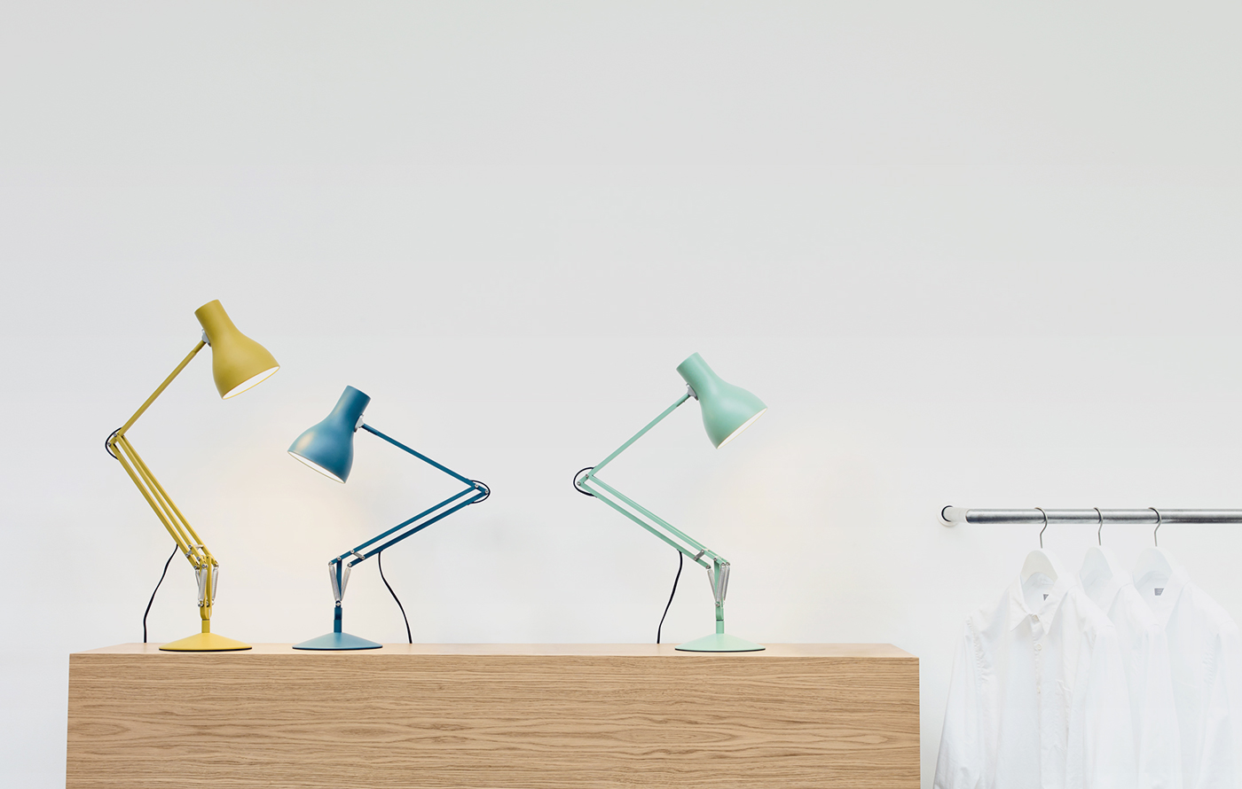 The iconic Anglepoise Lamp.  Image:  Anglepoise