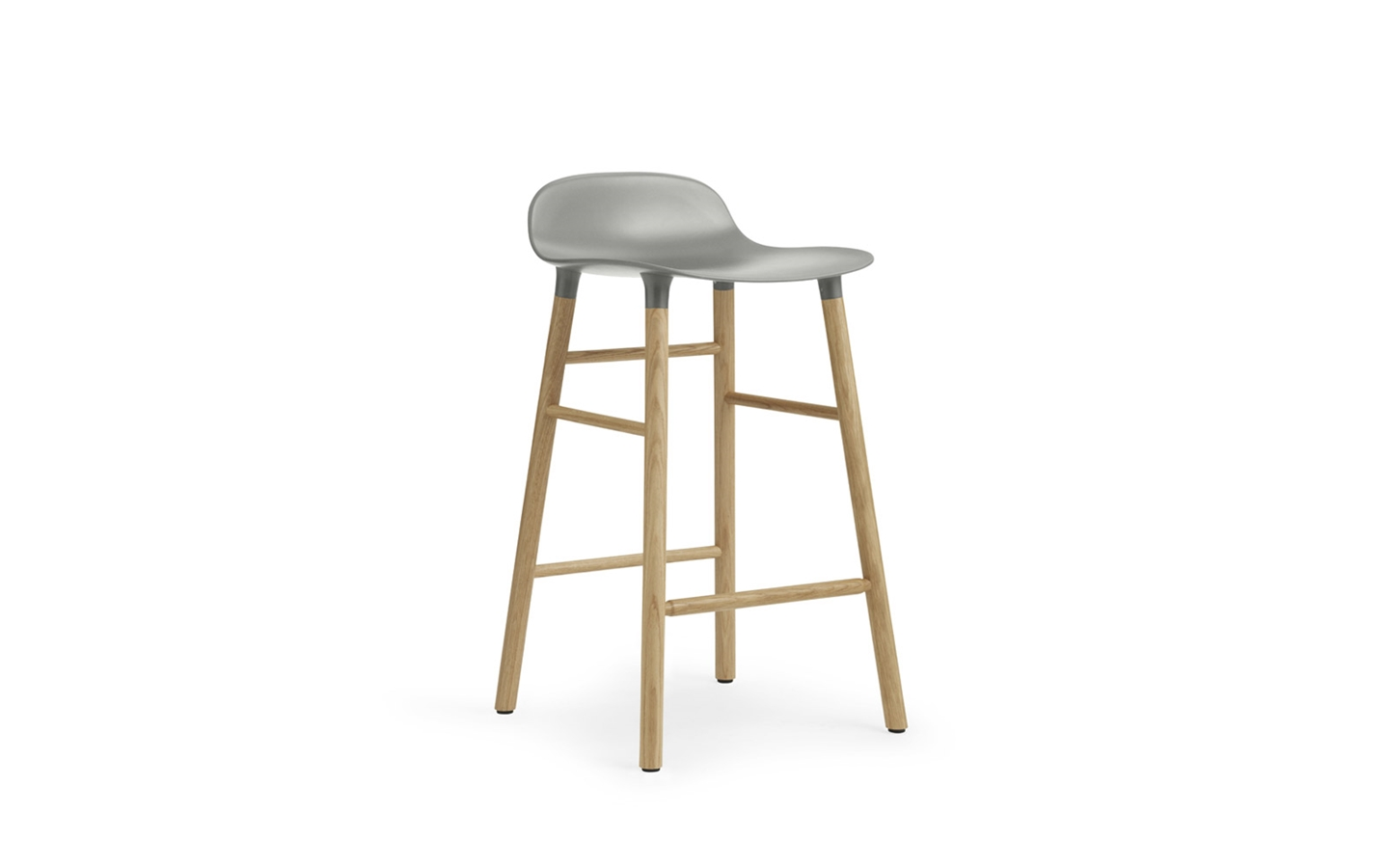 The Form Bar Stool by Norman Coppenhagen