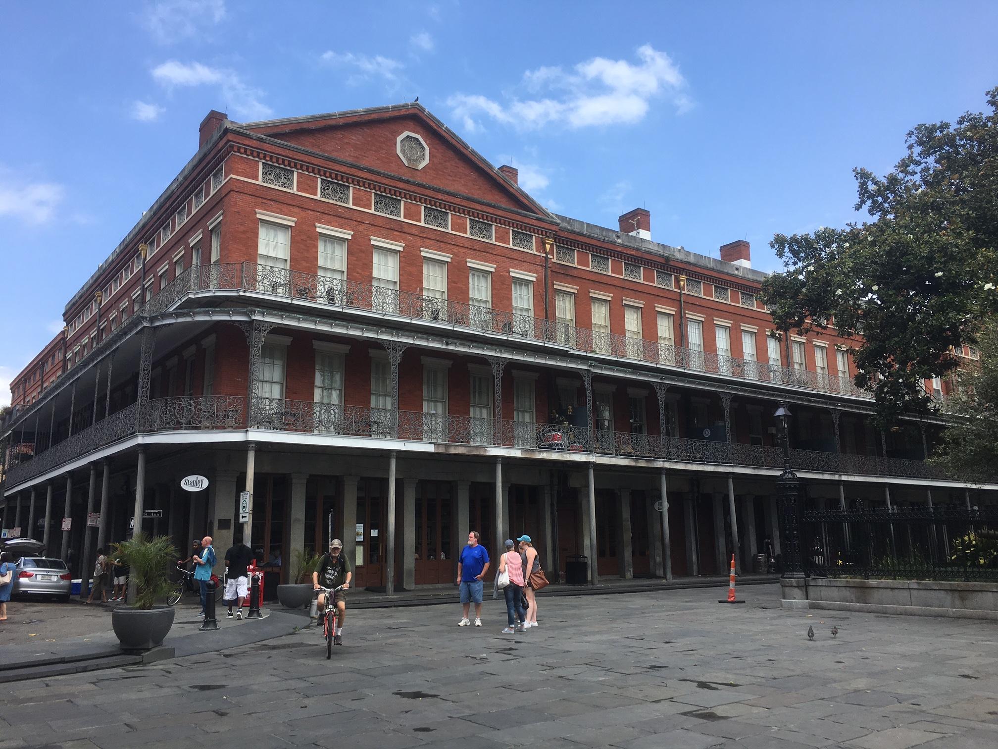 Corner of Jackson Square