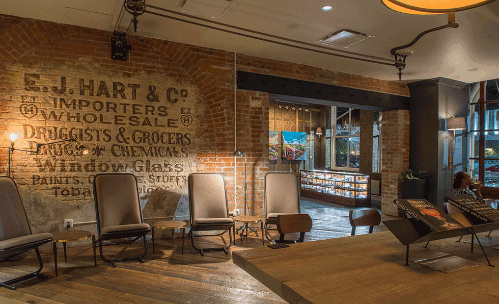 The Old No. 77 Hotel & Chandlery Lobby