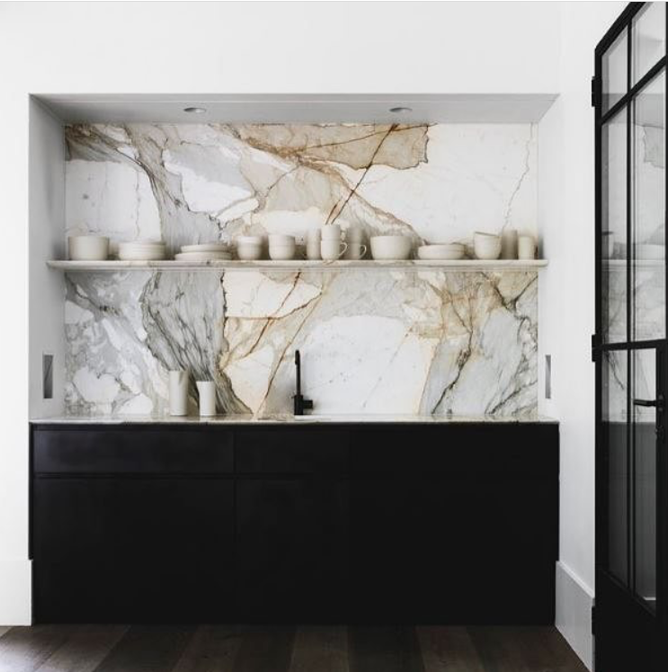Nothing makes a statement like marble  Image:  Handelsmann + Khaw