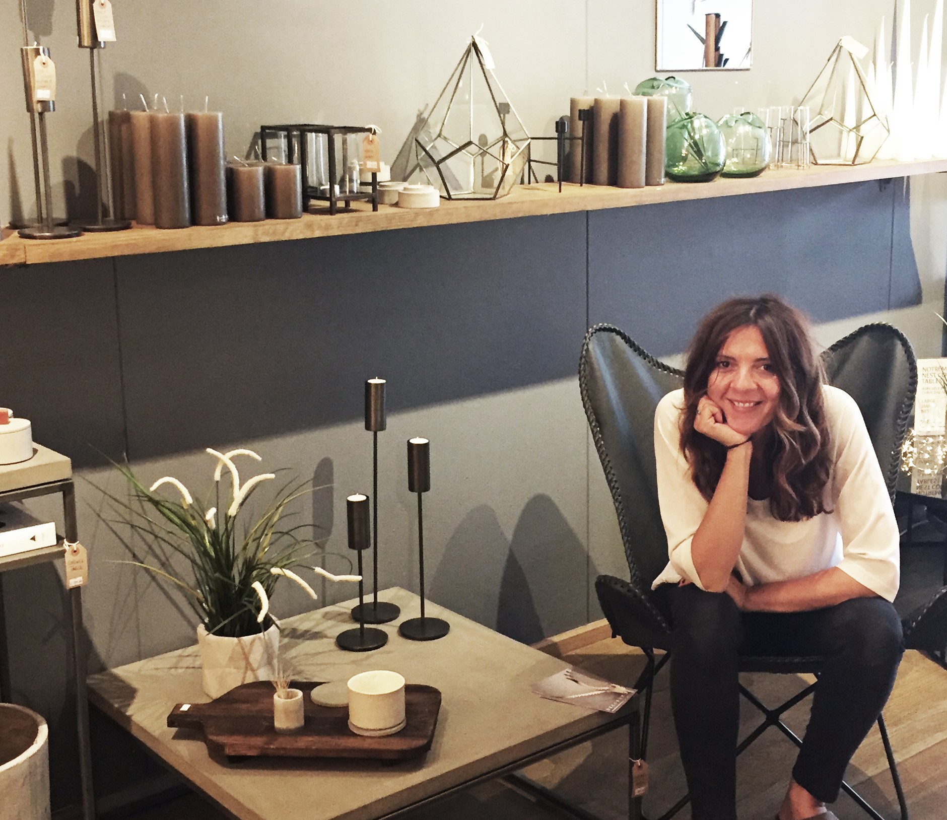 Christina Karoulla,Director of Decorum in the heart of Shoreditch