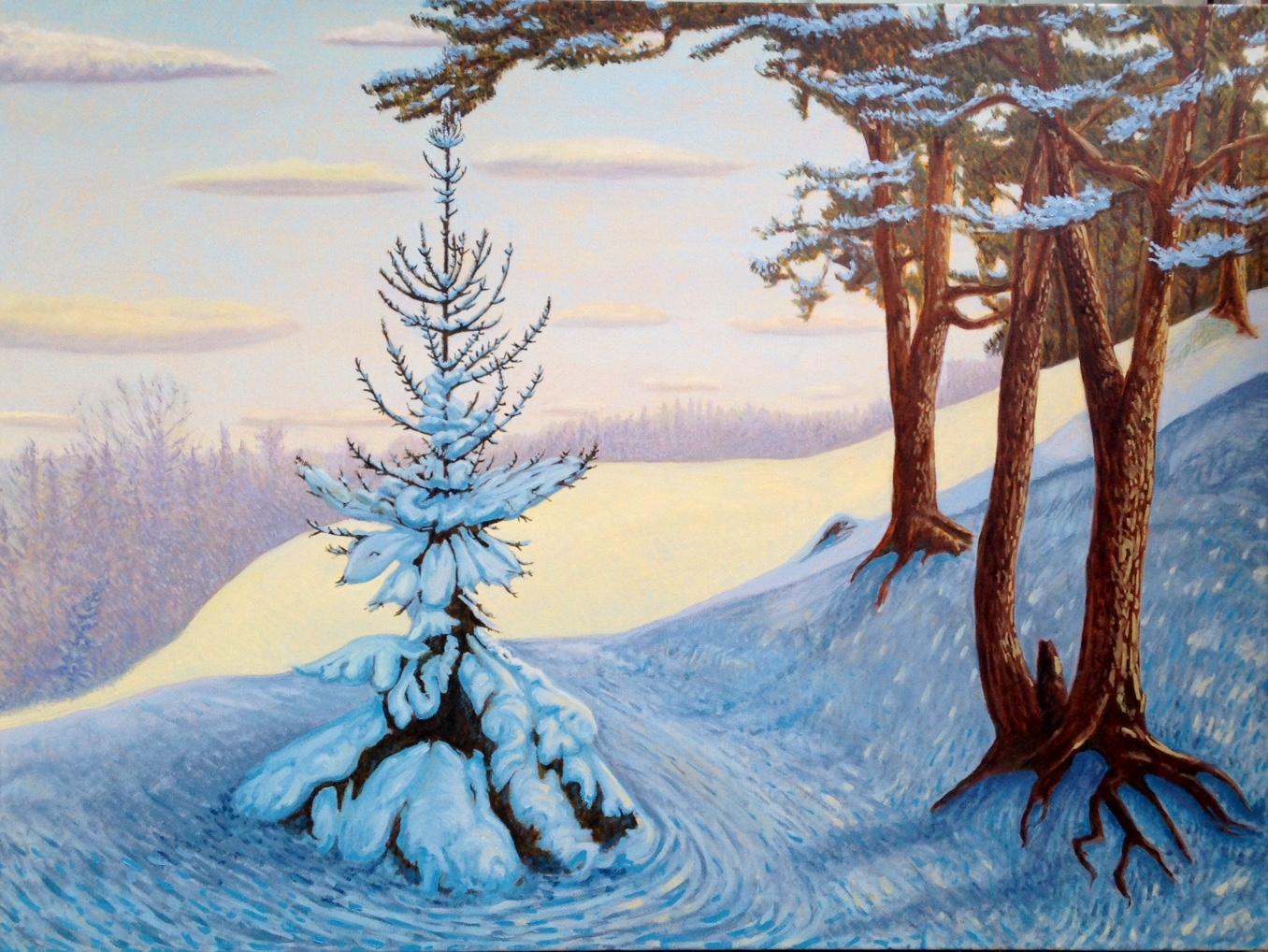 """Snow Hill John Kinsella 30""""x40"""""""