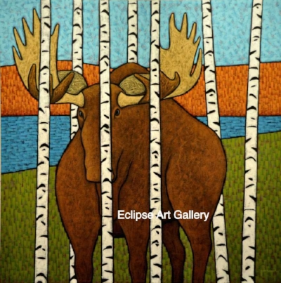 Can't see the trees through the Moose- John Ovcacik