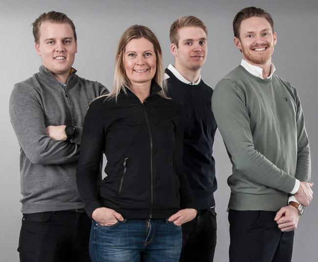 Dormys experter - Axel Engelberth, Anna Nyman, Marcus Ericsson och Jim Carlsson
