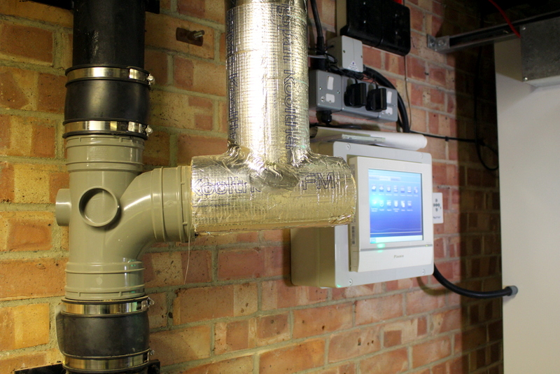 361 Degrees Overbury air conditioning heating contractor work for UCEM Reading