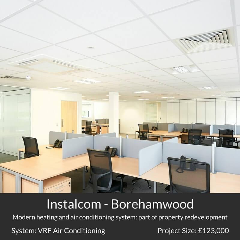 installcom borehamwood air conditioning 361 degrees