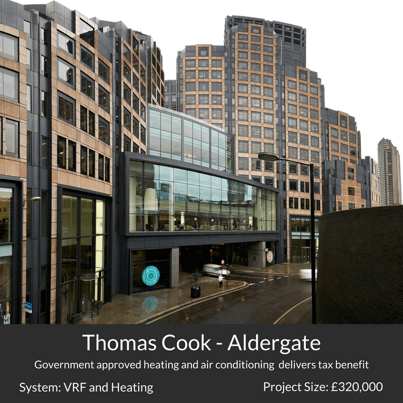 thomas cook headquarters air conditioning